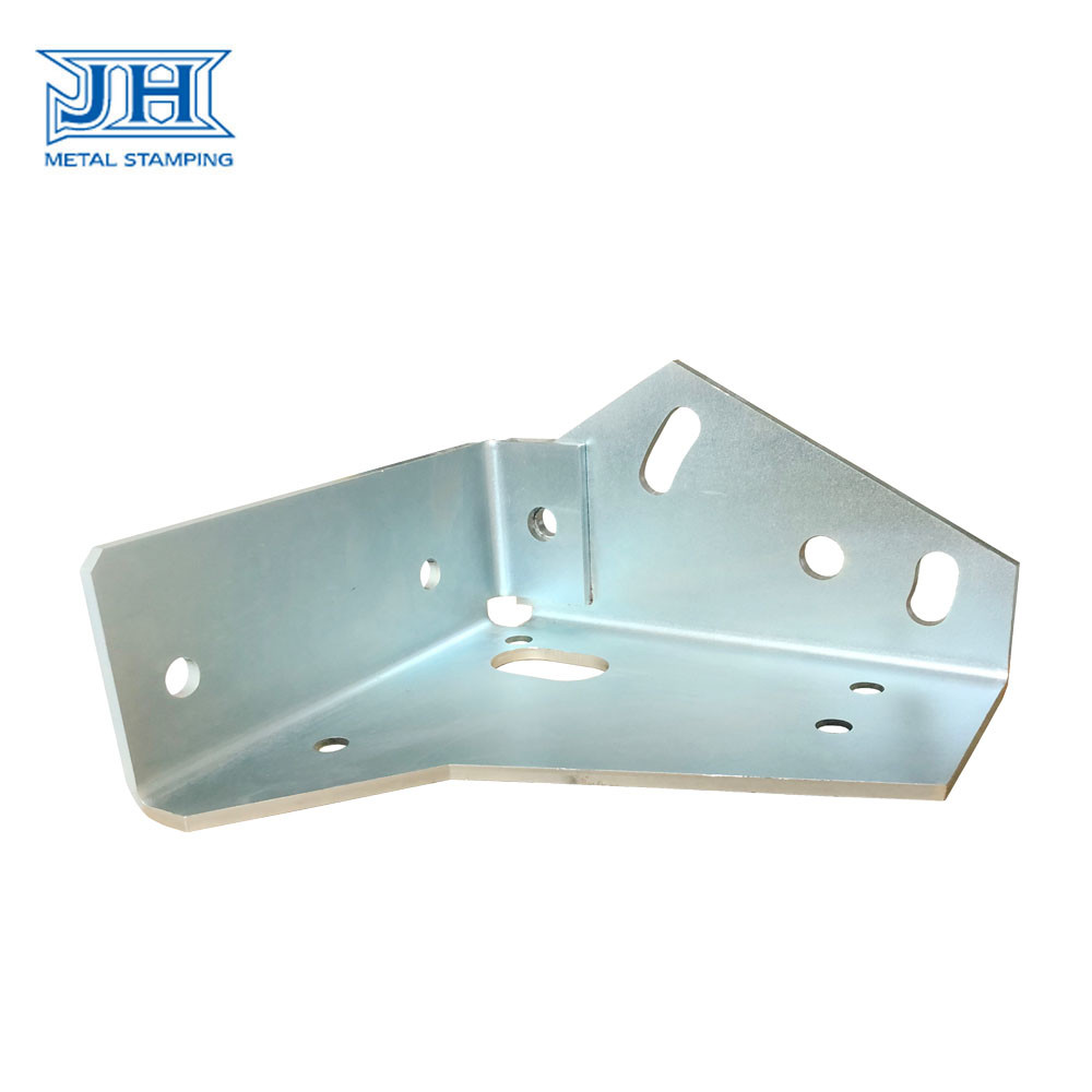 Customized Stamping Elevator Brackets Sheet Metal Q345B Steel  ISO 9001 Certification